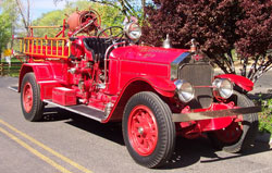Prescott still has its original Engine No. 1, a 1926 American LaFrance Type 75.