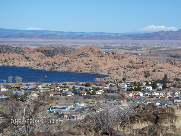 View from Petroglyph Trail