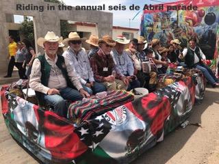 Caborca visit 4.2018 parade