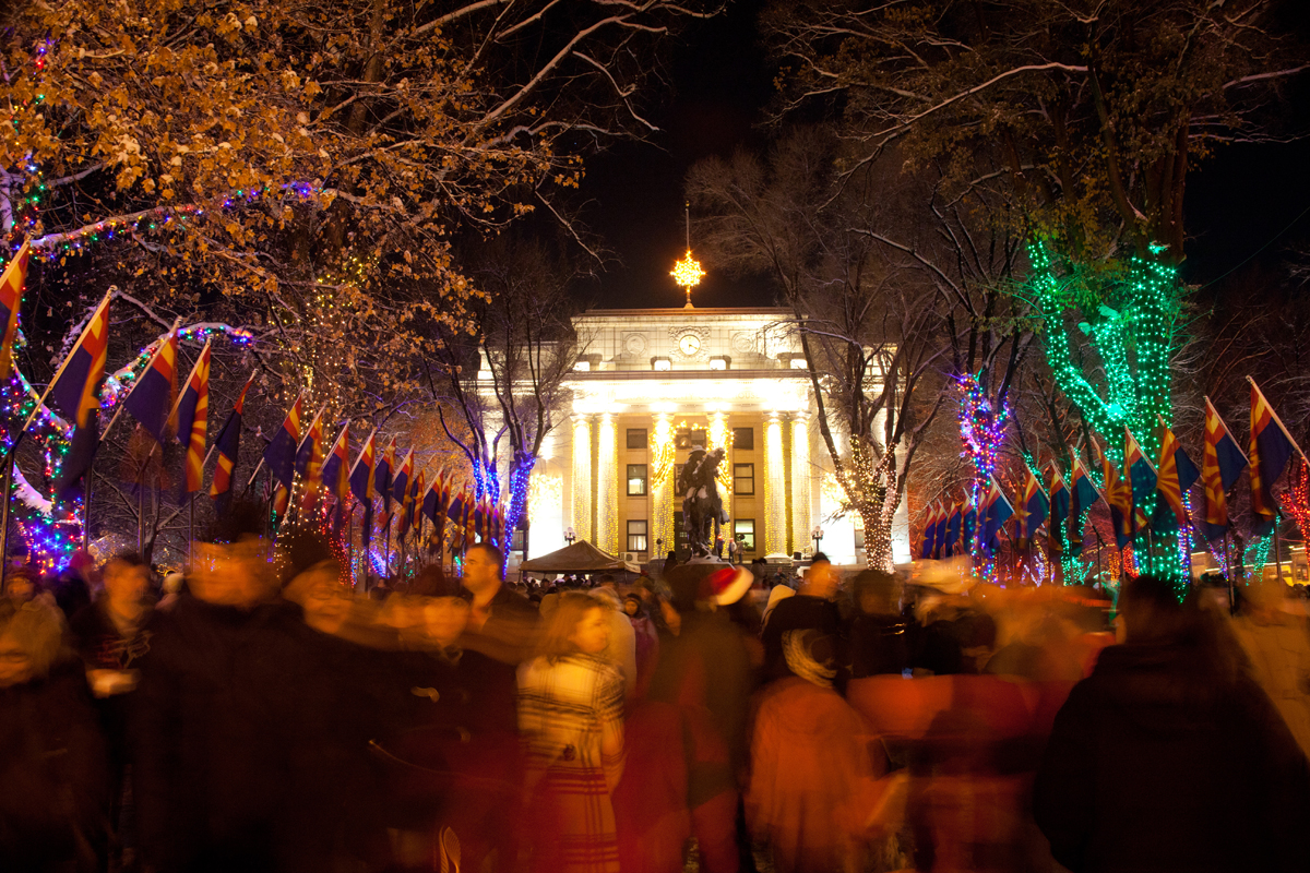 2021 Christmas Square Lighting Prescott Az 67th Annual Courthouse Lighting City Of Prescott
