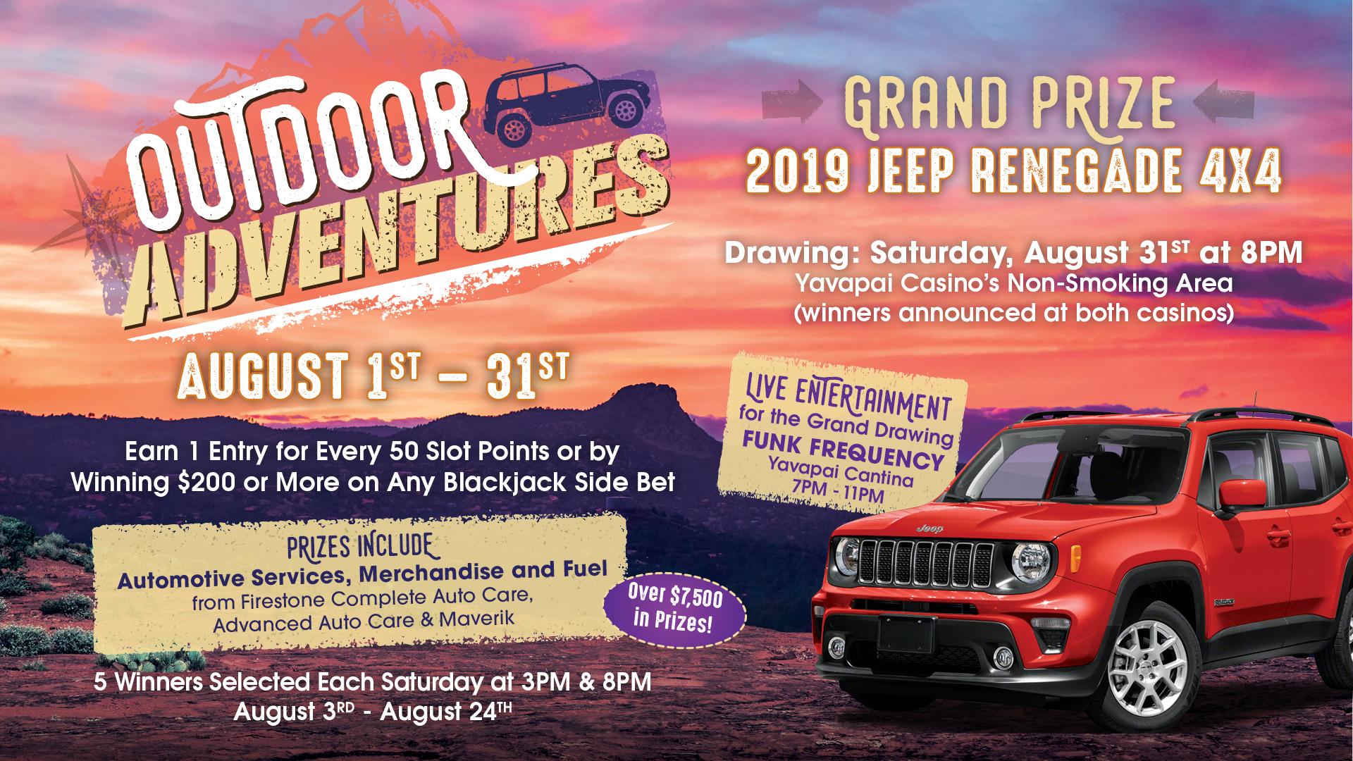 Outdoor Adventures – City of Prescott